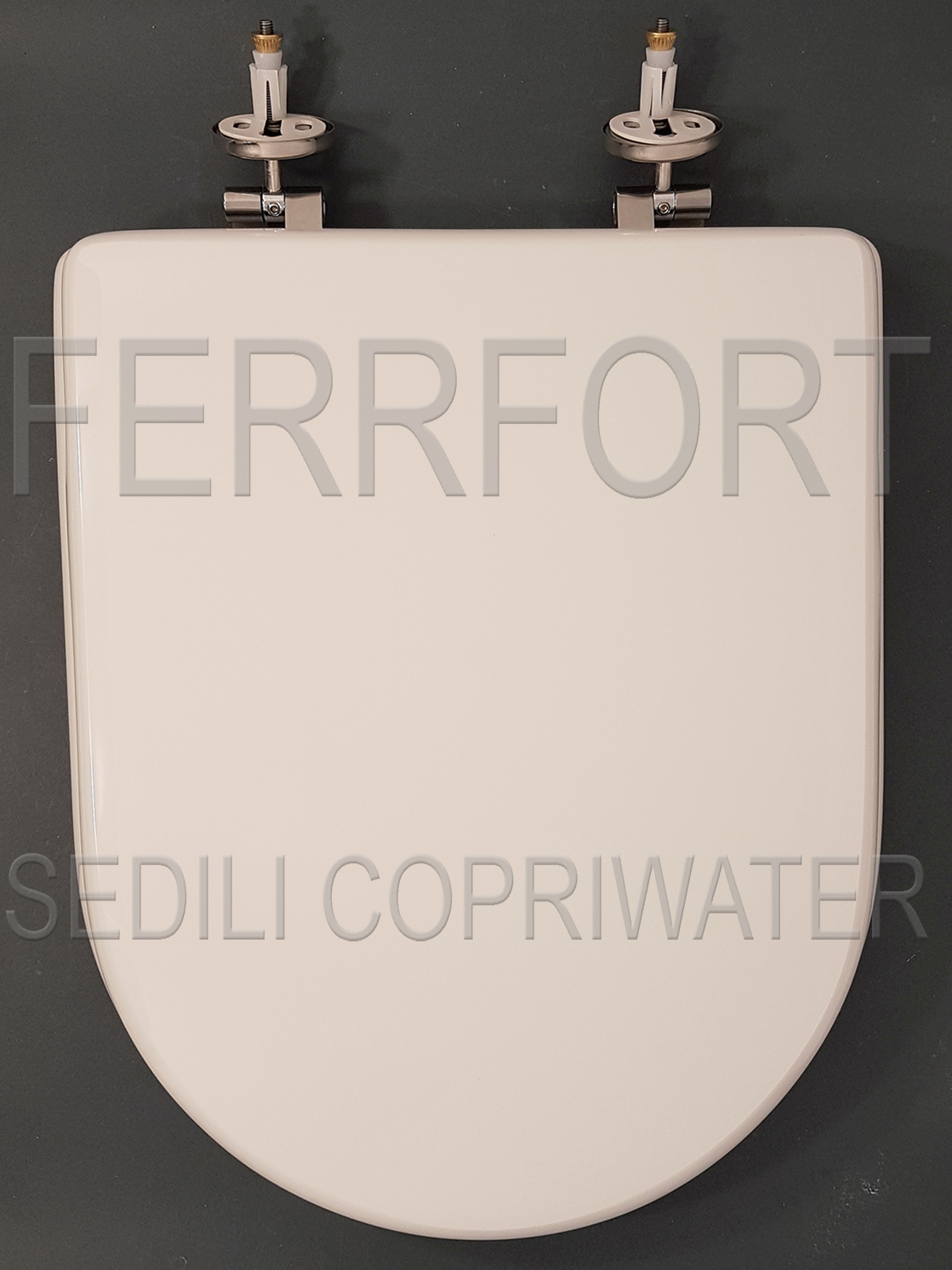 SEDILE COPRIWATER ESEDRA IDEAL STANDARD BIANCO