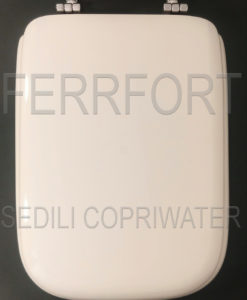 SEDILE COPRIWATER CONCA IDEAL STANDARD BIANCO