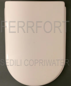 SEDILE COPRIWATER FIORILE IDEAL STANDARD BIANCO
