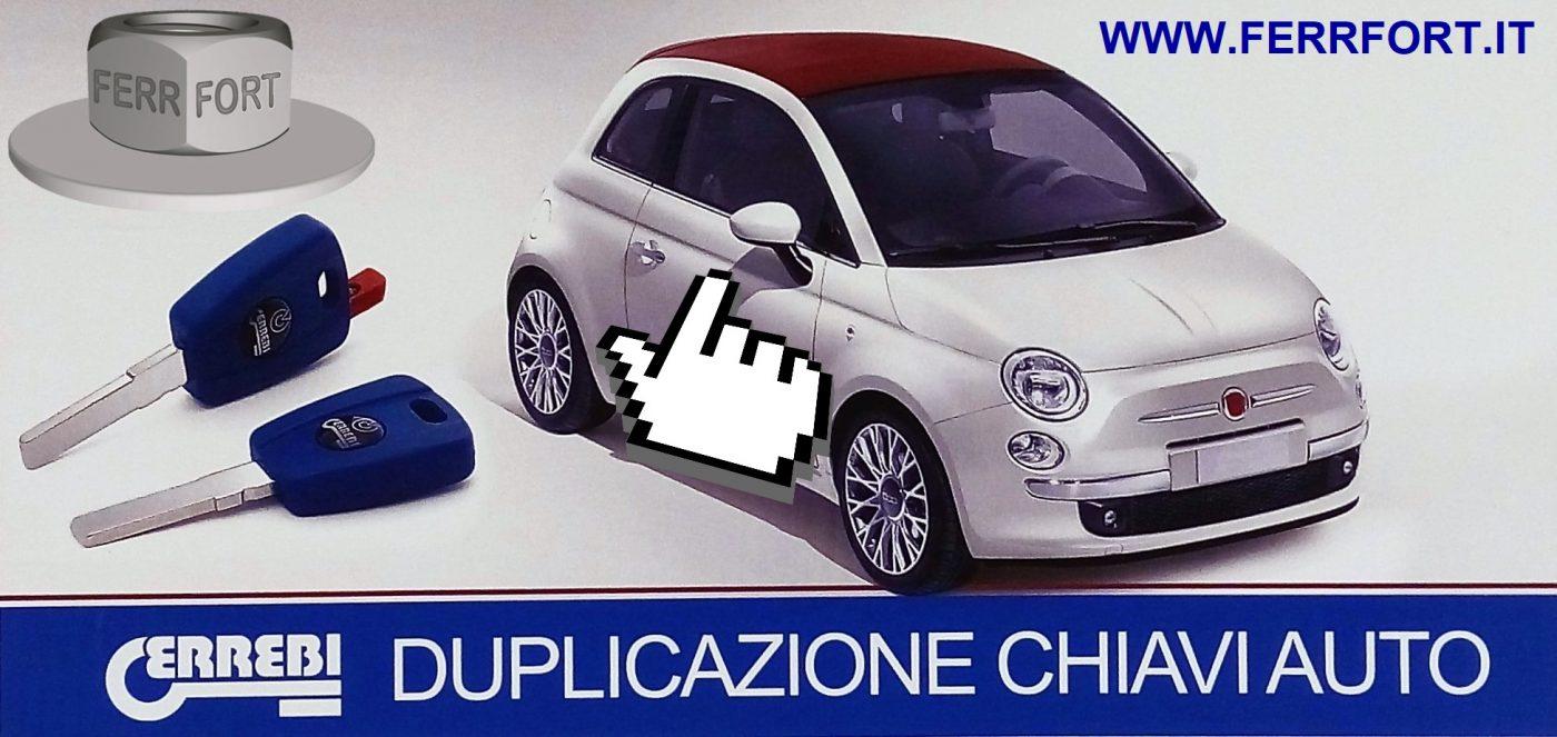 DUPLICAZIONE CHIAVI AUTO E MOTO CODIFICATE MILANO