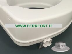 HIGHER TOILET SEAT FOR DISABLED PEOPLE THICKNESS 8CM