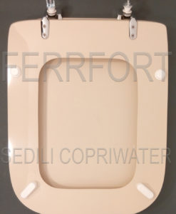 SEDILE COPRIWATER CONCA IDEAL STANDARD CHAMPAGNE