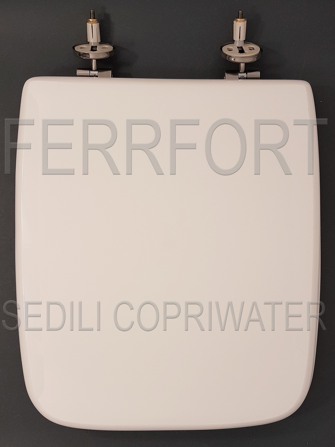 SEDILE COPRIWATER CANTICA IDEAL STANDARD BIANCO