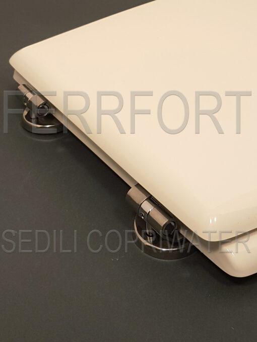 TOILET SEAT CLIO EOS WHITE