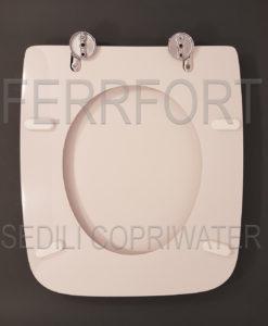 Sedile copriwater colibri 39 pozzi ginori bianco for Ideal standard cantica copriwater