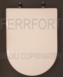 SEDILE COPRIWATER CLODIA DOLOMITE BIANCO
