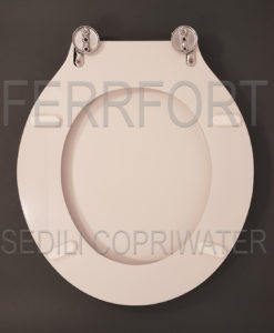 SEDILE COPRIWATER TERSO IDEAL STANDARD BIANCO