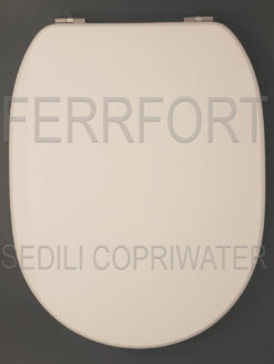 SEDILE COPRIWATER FIORILE IDEAL STANDARD BIANCO