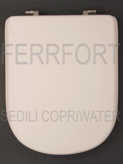 TOILET SEAT GEMMA 2 DOLOMITE WHITE