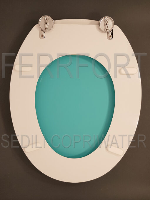 SEDILE COPRIWATER UNIVERSALE PANTONE IN TURCHESE 15-4825