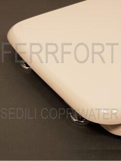 TOILET SEAT DIANA AZZURRA WHITE