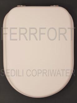 TOILET SEAT BELLE EPOQUE CESAME WHITE