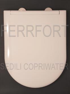 SEDILE COPRIWATER TERMOINDURENTE DUROPLAST ZERO 55 CATALANO BIANCO