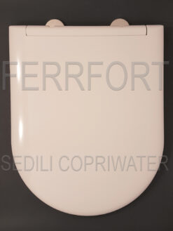 TOILET SEAT CLODIA DOLOMITE WHITE