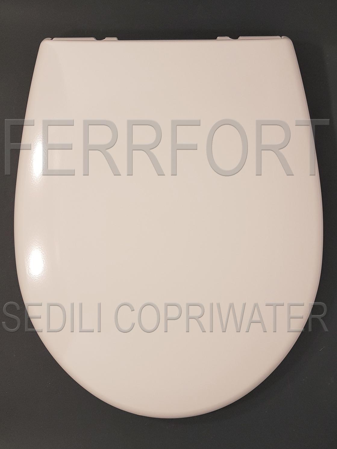 SEDILE COPRIWATER TERMOINDURENTE DUROPLAST BOWL 52/55 GLOBO BIANCO
