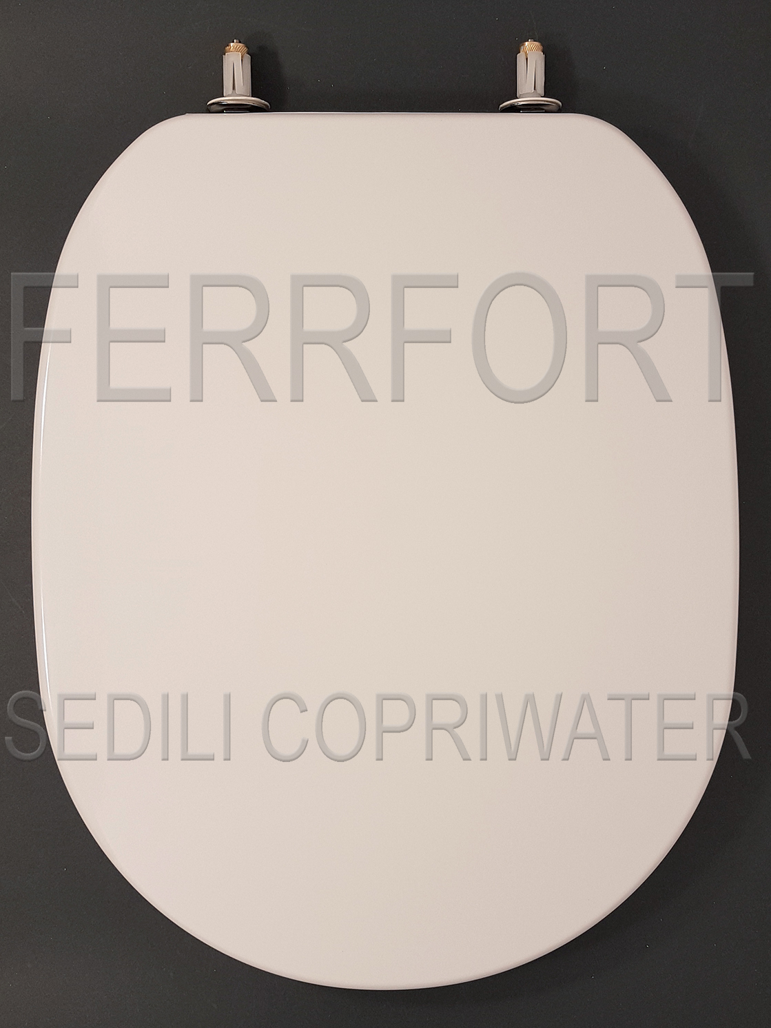 SEDILE COPRIWATER TERMOINDURENTE DUROPLAST CONNECT IDEAL STANDARD BIANCO