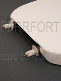 SEDILE COPRIWATER TERMOINDURENTE DUROPLAST CONNECT IDEAL STANDARD BIANCO