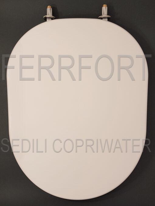 SEDILE COPRIWATER TERMOINDURENTE DUROPLAST TONIC IDEAL STANDARD BIANCO