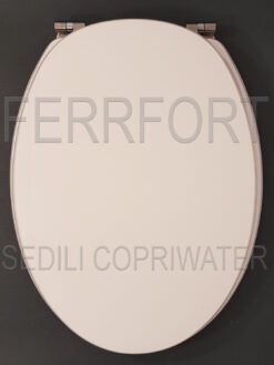 SEDILE COPRIWATER IRIL SCALA BIANCO