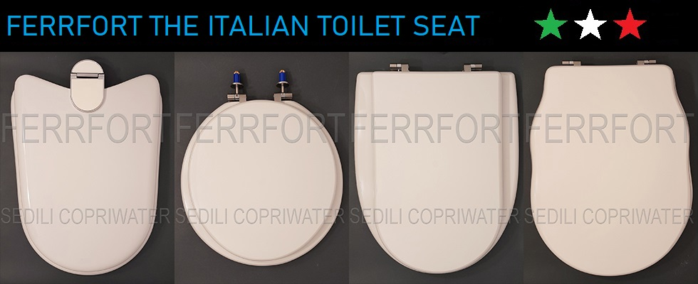 FERRFORT THE ITALIAN TOILET SEAT