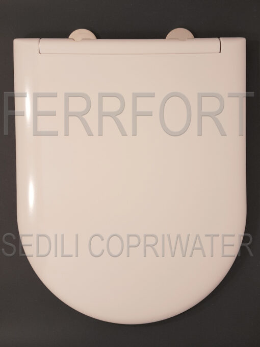 TOILET SEAT ALPINA DOLOMITE WHITE