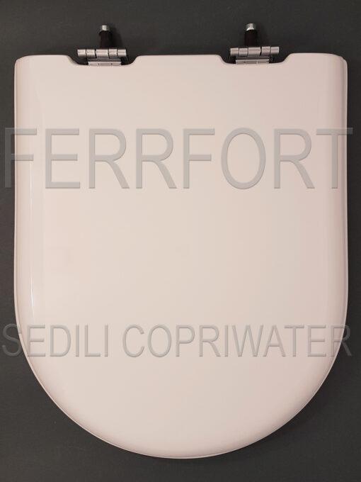 SEDILE COPRIWATER COURREGE KERAMAG BIANCO