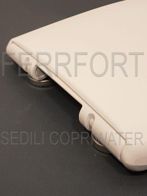 TOILET SEAT GARDA DOLOMITE WHITE