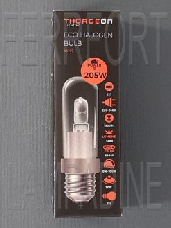 LAMPADINA ALOGENA TUBOLARE CERAMICA HALOLUX 205W E27 230V
