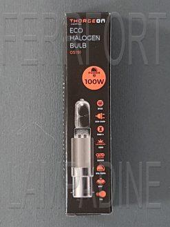 LAMPADINA ALOGENA TUBOLARE CERAMICA HALOLUX 100W B15D 230V